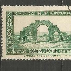 Timbres: ARGELIA COLONIA FRANCESA YVERT NUM. 103 USADO. Lote 190850488