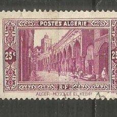 Timbres: ARGELIA COLONIA FRANCESA YVERT NUM. 108 USADO. Lote 190850616