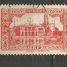 Timbres: ARGELIA COLONIA FRANCESA YVERT NUM. 112 USADO. Lote 190850943
