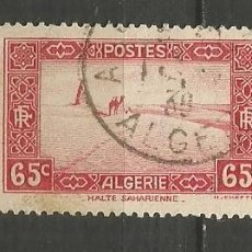 Timbres: ARGELIA COLONIA FRANCESA YVERT NUM. 113A USADO. Lote 190851055