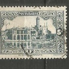 Timbres: ARGELIA COLONIA FRANCESA YVERT NUM. 124 USADO. Lote 190851695