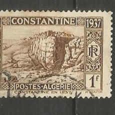 Timbres: ARGELIA COLONIA FRANCESA YVERT NUM. 132 USADO. Lote 190856913
