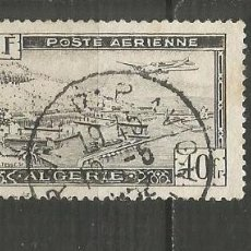 Francobolli: ARGELIA CORREO AEREO COLONIA FRANCESA YVERT NUM. 6 USADO. Lote 190860756
