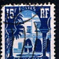 Sellos: ARGELIA // YVERT 314 // 1954-55 .. USADO. Lote 194511285