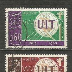 Timbres: ARGELIA YVERT NUM. 409/410 SERIE COMPLETA USADA. Lote 202319237