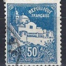 Sellos: ARGELIA 1926 - MEZQUITA DE LOS PESCADORES - SELLO USADO. Lote 205661147