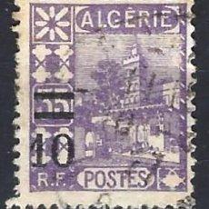 Sellos: ARGELIA 1927 - SELLO DE 1926 SOBRECARGADO - SELLO USADO. Lote 205661587