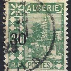 Sellos: ARGELIA 1927 - SELLO DE 1926 SOBRECARGADO - SELLO USADO. Lote 205661672
