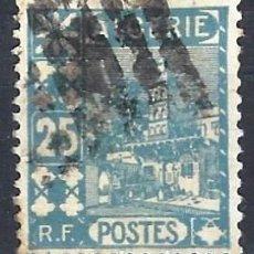 Sellos: ARGELIA 1927 - MEZQUITA DE SIDI ABDERAHMAN - SELLO USADO. Lote 205661768