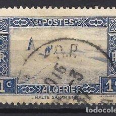Sellos: ARGELIA 1936-38 - DESIERTO DEL SAHARA - SELLO USADO. Lote 205662058