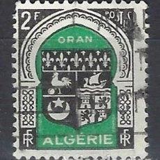 Sellos: ARGELIA 1947-49 - ESCUDOS - SELLO USADO. Lote 205662545