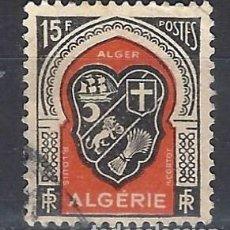 Sellos: ARGELIA 1947-49 - ESCUDOS - SELLO USADO. Lote 205662588