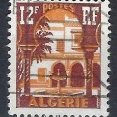 Sellos: ARGELIA 1954-55 - MUSEO DEL BARDO - SELLO USADO. Lote 205662727