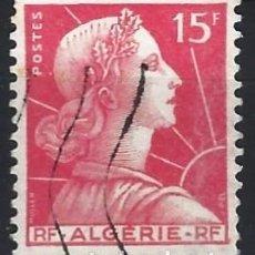 Sellos: ARGELIA 1955-57 - SEMBRADORA - SELLO USADO. Lote 205662912