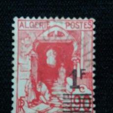 Sellos: ARGELIE 1F, PICTIRICOAÑO 1926, SIN USAR. SOBREESCRITO.. Lote 213353101