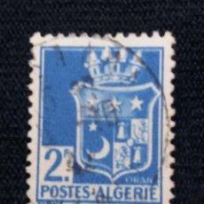 Sellos: ARGELIE 2F, ORAN, AÑO 1943,. Lote 213353618