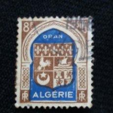 Sellos: ARGELIE, RF, 8F, ORAN, AÑO 1947,. Lote 213353910