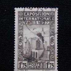 Sellos: ARGELIA, RF, 1,75F, INTERN PARIS, AÑO 1937.. Lote 213496785
