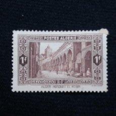 Sellos: ARGELIA, RF, 1F, EL KEBIR MUQUE, AÑO 1937.SIN USAR,. Lote 213496968
