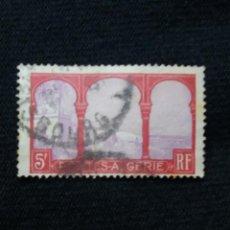 Sellos: ARGELIA, RF, 5F, TOUGGOURT, AÑO 1935.. Lote 213499732