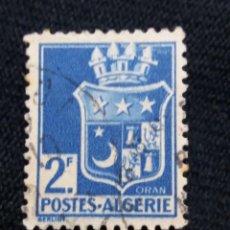 Sellos: ARGELIA, 2F, OMAN ORAN, AÑO 1943.. Lote 213502006
