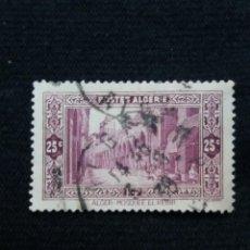 Sellos: ARGELIA, 25C, MOSQUE EL KEBIR, AÑO 1943.. Lote 213502147