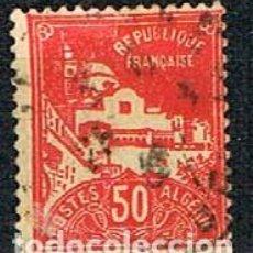 Sellos: ARGELIA IVERT Nº 79 A, MEZQUITA DE LOS PESCADORES, USADO. Lote 214370123