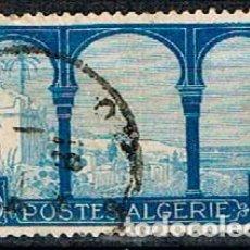 Sellos: ARGELIA IVERT Nº 83 (AÑO 1927), VISTA DE MUSTAFA, USADO. Lote 214373111