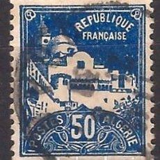Francobolli: ARGELIA 1926 - MEZQUITA DE LOS PESCADORES - USADO. Lote 215096220