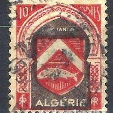 Francobolli: ARGELIA 1947-49 - ESCUDO DE CONSTANTINA - USADO. Lote 215100412