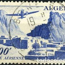 Sellos: SELLO USADO DE ALGELIA 1949, CORREO AEREO YT 12. Lote 220847325