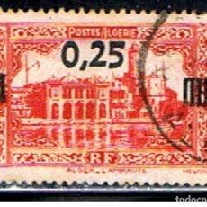 Sellos: ARGELIA // YVERT 148 // 1938 ... USADO. Lote 224663007