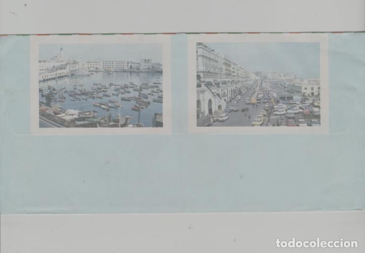 Sellos: LOTE V-SOBRE SELLOS ARGELIA CON VIÑETAS FOTOGRAFICAS - Foto 2 - 237490875