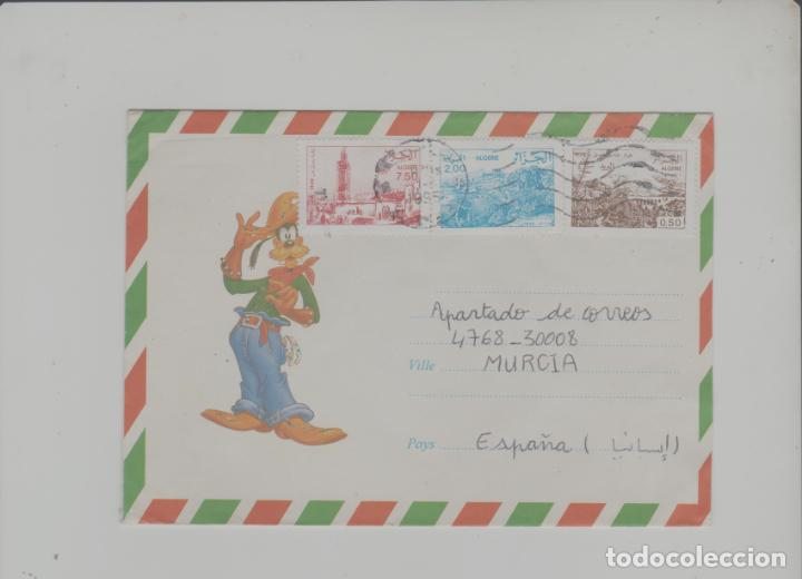 LOTE V-SOBRE SELLOS ARGELIA CORREO AEREO DIBUJO DISNEY (Sellos - Extranjero - África - Argelia)