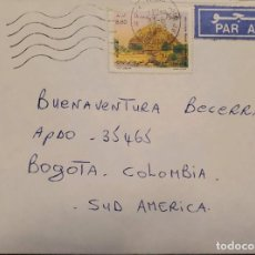 Sellos: O) 1993 ARGELIA, MONUMENTO FUNERARIO SIGLO III AC, MAUSOLEOS REALES MAURETANIA. CORREO AÉREO A BOGOT. Lote 241826415