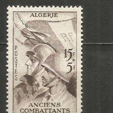 Timbres: ARGELIA COLONIA FRANCESA YVERT NUM. 309 ** SERIE COMPLETA SIN FIJASELLOS. Lote 242163605