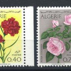 Sellos: ALGÉRIE N°484/87* (MH) 1969 - FLEURS. Lote 243330795