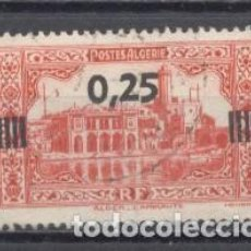 Sellos: ALGERIA, RF, 1936/37, SOBRECARGADO YVERT TELLIER 148 USADO. Lote 254132360