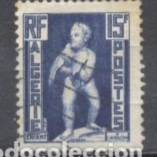 Sellos: ALGERIA, RF, 1952 YVERT TELLIER 290 USADO. Lote 254133095