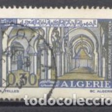 Sellos: ALGERIA, 1970, MEZQUITA DE TLEMCEN ,YVERT TELLIER 528 ,USADO. Lote 254137315