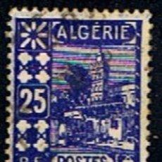 Sellos: ARGELIA - FRANCIA // YVERT 136 // 1938-41 ... USADO. Lote 285543578