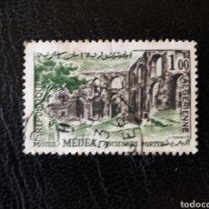 Sellos: ARGELIA YVERT 368 SELLO SUELTO USADO 1962 PAISAJES Y MONUMENTOS PEDIDO MÍNIMO 3€. Lote 293786788