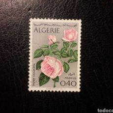 Sellos: ARGELIA YVERT 569 SELLO SUELTO USADO 1973 FLORA. FLORES PEDIDO MÍNIMO 3€. Lote 293845888