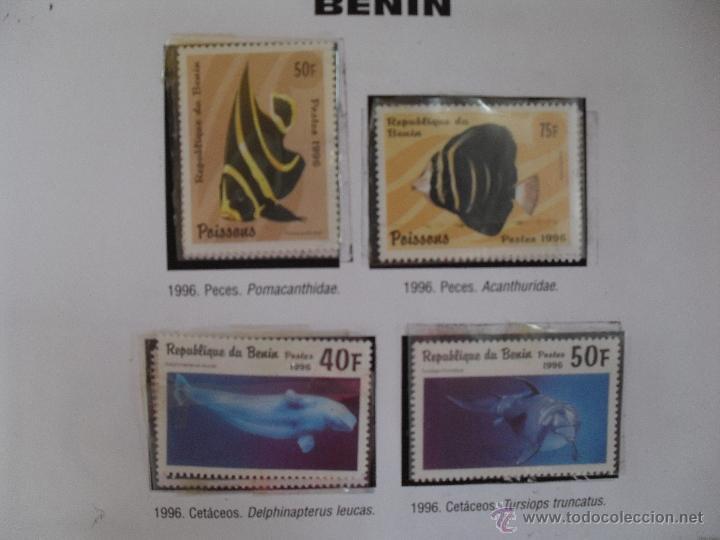 Sellos: conocer y coleccionar sellos de todo el mundo, benin - Foto 2 - 44839440
