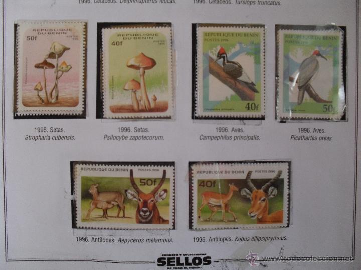 Sellos: conocer y coleccionar sellos de todo el mundo, benin - Foto 3 - 44839440