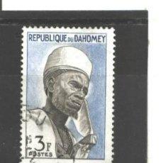 Sellos: BENIN-DAHOMEY 1963 - YVERT NRO. 180 - USADO. Lote 44937102
