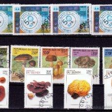 Sellos: REPUBLICA DE BENIN. AYUDA INFANTIL - SETAS - ESPONJAS. *,MH. Lote 52474188