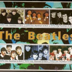 Sellos: BENIN & THE BEATLES 2003 (28). Lote 54212886