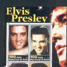Sellos: BENIN ** & ELVIS PRIESLEY (1). Lote 54522319