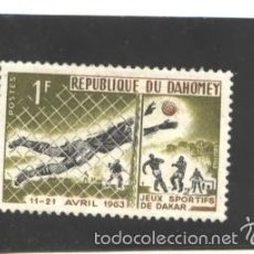 Sellos: BENIN - DAHOMEY 1963 - YVERT NRO. 193 - CHARNELA. Lote 56325598